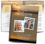 Kenya DIY Large Tabloid Funeral Booklet Template