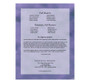 Lilac DIY Large Tabloid Funeral Booklet Template back cover