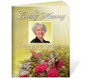 Bouquet DIY Large Tabloid Funeral Booklet Template