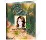 Floral Ready-Made DIY Legal Funeral Booklet Template