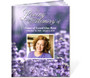 Lilac Ready-Made DIY Legal Funeral Booklet Template