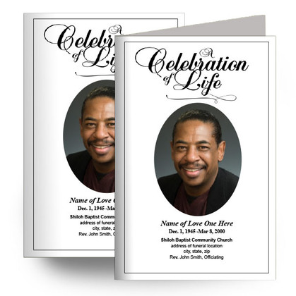 A Celebration of Life Program