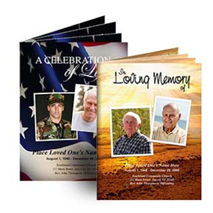Funeral Service Booklets