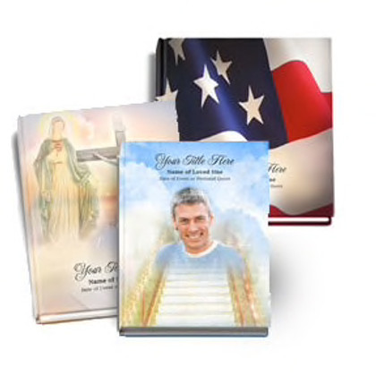 Personalized Memorial Guest Books