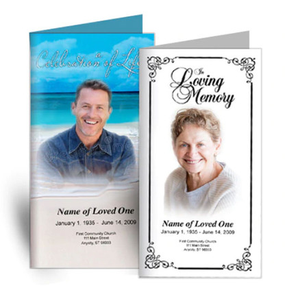 Obituary Templates Using Our New Online Software