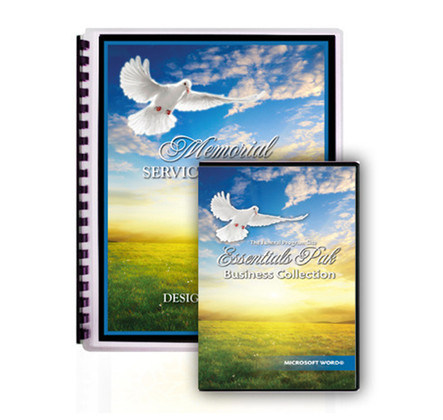 Funeral Program Software Essentials Pak