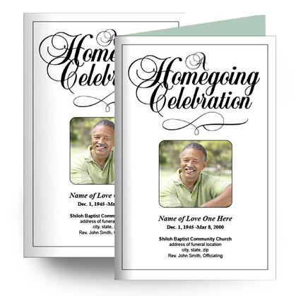 A Homegoing Service Celebration Program