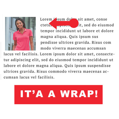 How To Wrap Text Around A Photo Microsoft Word
