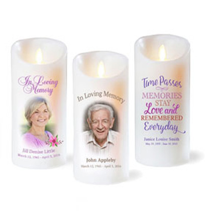 Personalized Memorial Candles