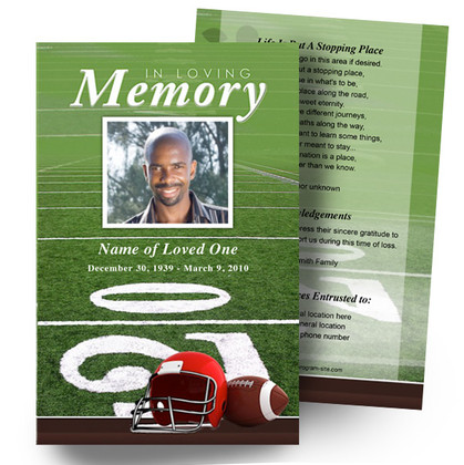 ​Sports, Hobbies, Career DIY Memorial Programs