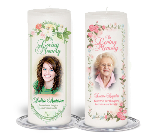 3x9 Pillar Wax Candles height=