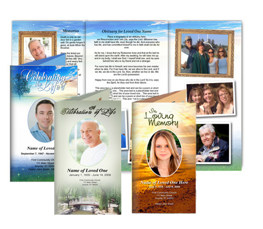 Trifold Funeral Brochures Trifold (Legal) height=