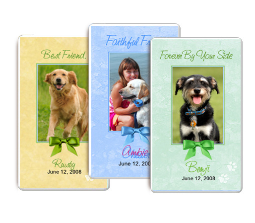 Pet Memorial Flat Cards height=