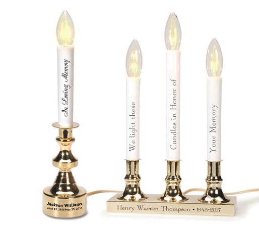 Electric Taper Candles height=