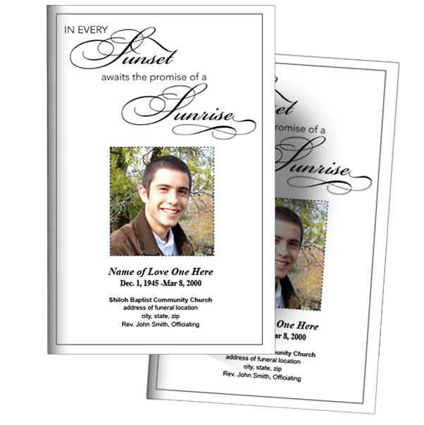 the funeral program site funeral programs memorials