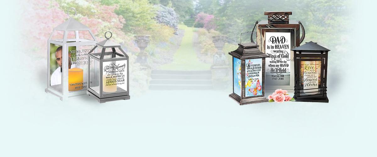 memorial lanterns
