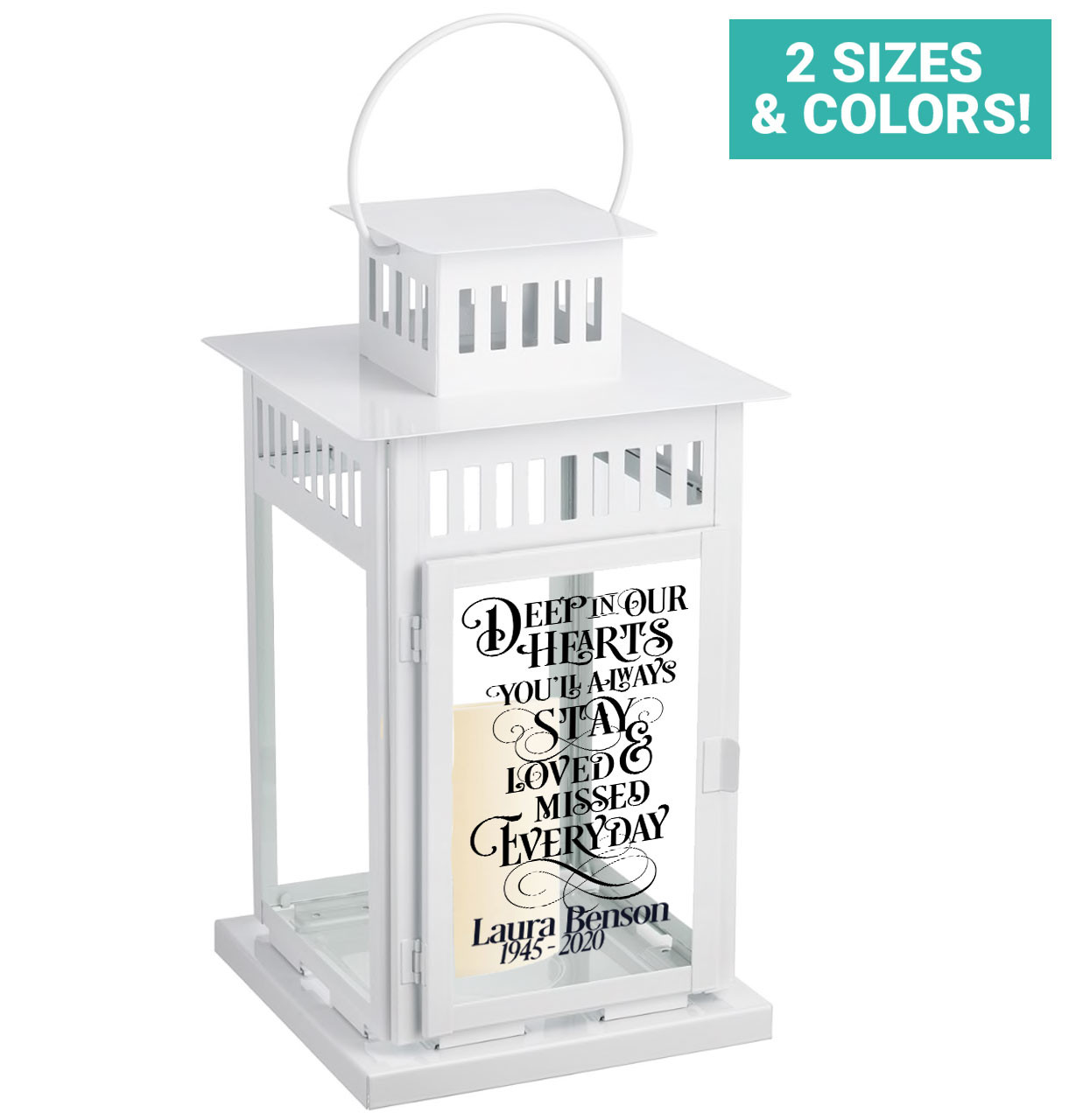 Memorial Lanterns Personalized Memorial Lantern