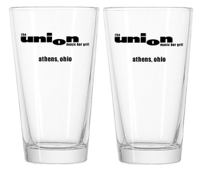 The Union Pint Glasses