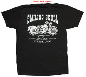 Smiling Skull Saloon - Back Imprint