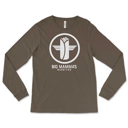 Big Mamma's Burrito's Long-Sleeved T-Shirt