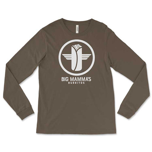 Big Mamma's Burrito's Long-Sleeved T-Shirt