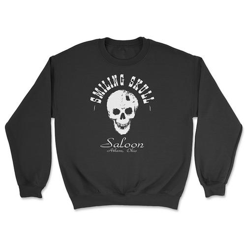 The Smiling Skull Saloon Crewneck Sweatshirt