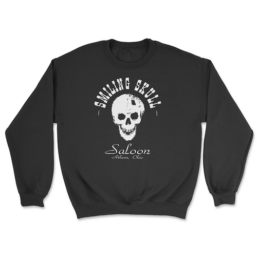 The Smiling Skull Saloon Crewneck Sweatshirt