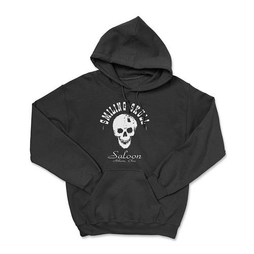 The Smiling Skull Saloon Hoodie
