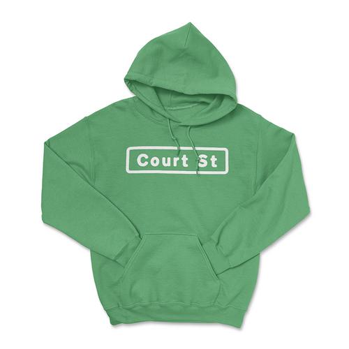 Court Street Sign Hoodie