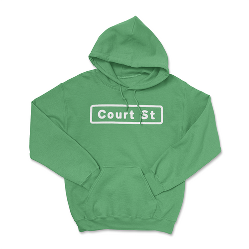 Court Street Sign Hoodie