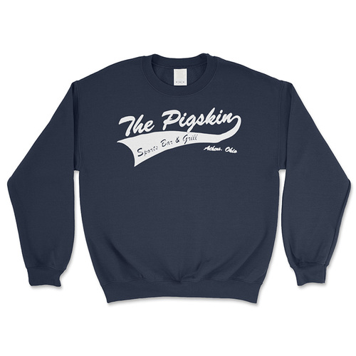 The Pigskin Navy Blue Crewneck Sweatshirt