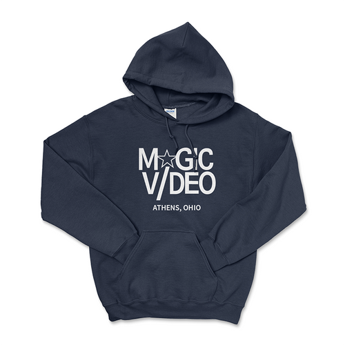 Magic Video - Navy Blue Hoodie