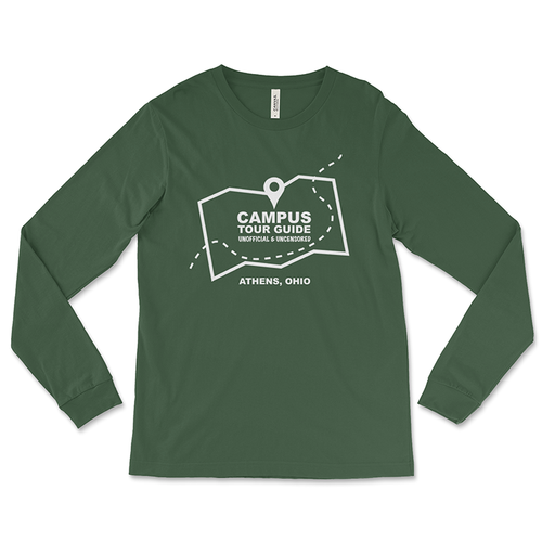 Unofficial Campus Tour Guide Long-Sleeved T-Shirt
