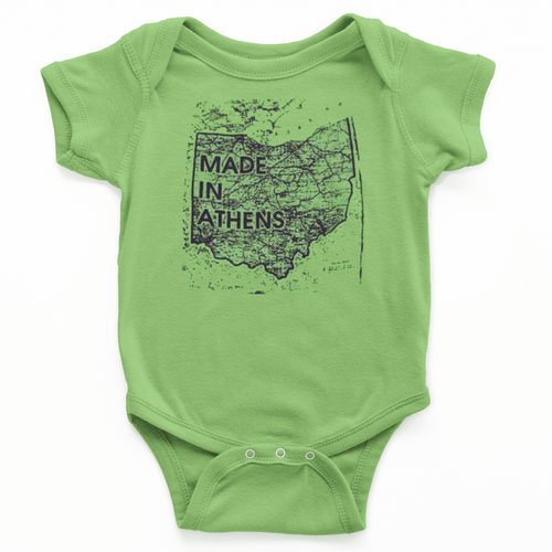 """""""Made in Athens"""" Onesie"""