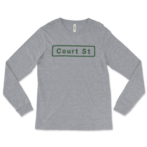 Court Street Long-Sleeved T-Shirt