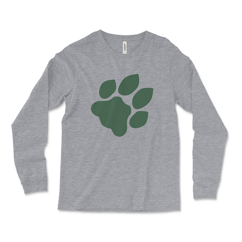 Ohio University Paw Print T-Shirt Long Sleeve