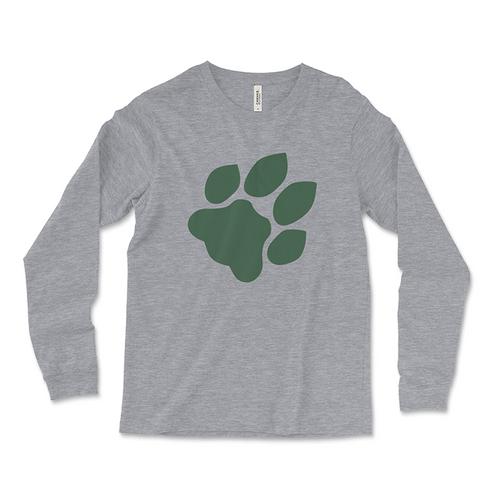 Ohio University Paw Print Long-Sleeved T-Shirt