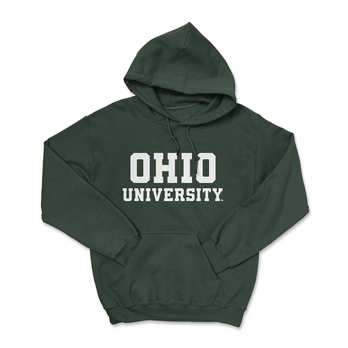 Ohio University Hoodie - Classic Green