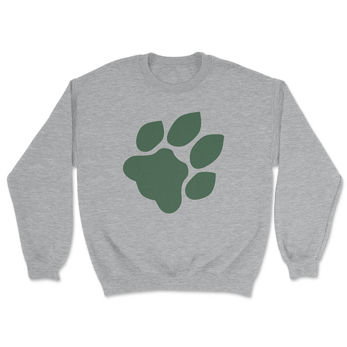 Ohio University Paw Print Crewneck Sweatshirt