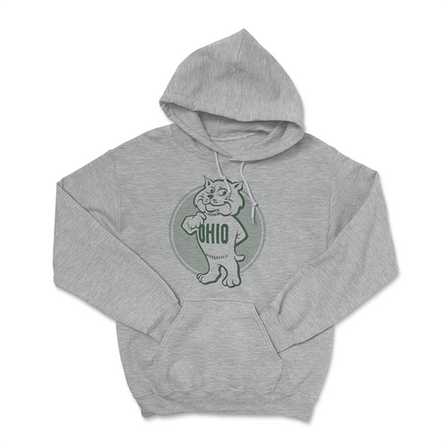 Ohio University Hoodie Retro Rufus Sweatshirt