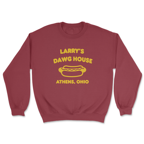 Larry's Dawg House  Crewneck Sweatshirt