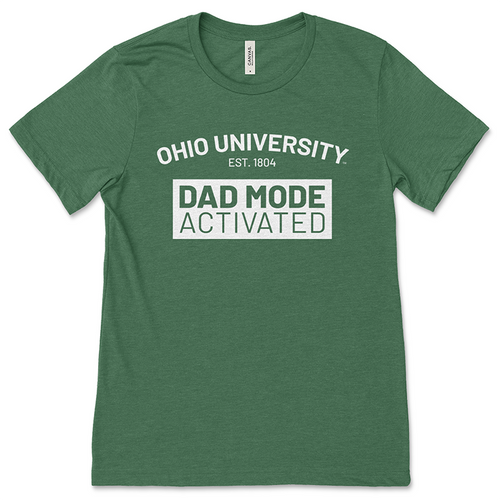 Ohio University Dad Mode Green T-Shirt