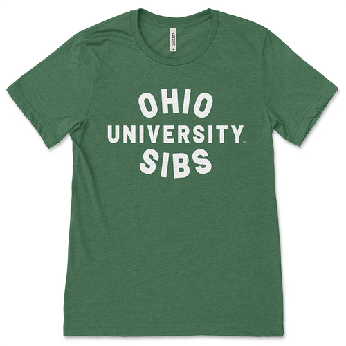 Ohio University Sibs Green T-Shirt