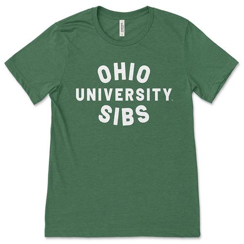 Ohio University Sibs Green T-Shirt