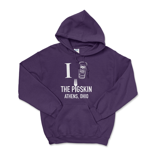 The Pigskin Bar and Grille Black Widow Hoodie