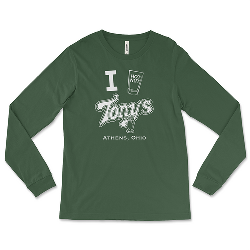 Tony's Tavern Hot Nut Long Sleeve T-Shirt