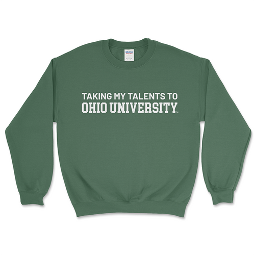 Taking My Talents Crewneck Sweatshirt