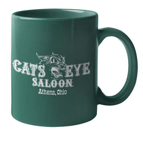 The Cat's Eye Coffee Mugs - Set of 2