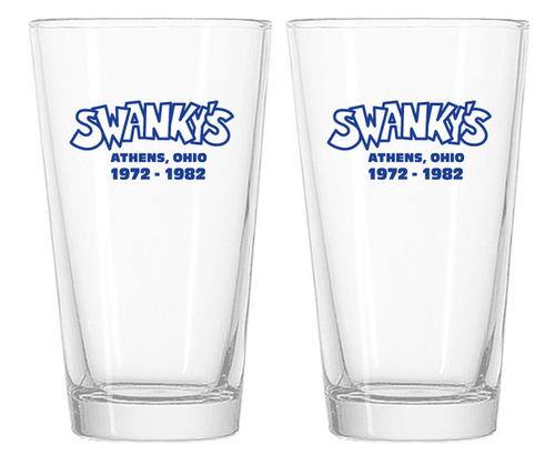 Set of Swanky's Pint Glasses