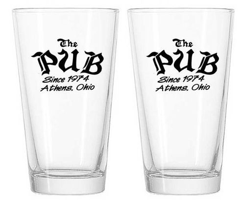 The Pub Pint Glasses